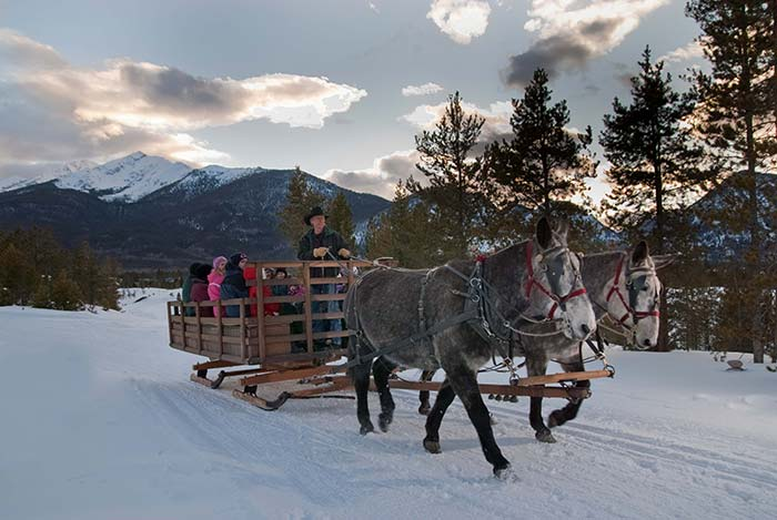 Colorado Winter Sleigh Rides Amp Summer Chuck Wagon Rides